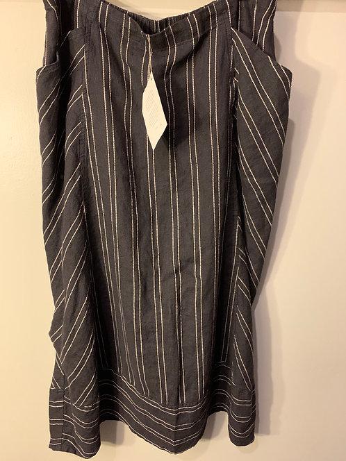 """Striped """"Nouveau"""" Skirt"""