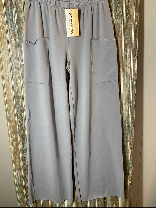 Pant with Pre-cut Pockets