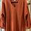 Thumbnail: Cotton Slub Sweater w/ Roll-up Sleeve