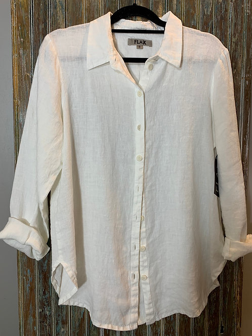 Crossroads Heavy Linen Blouse