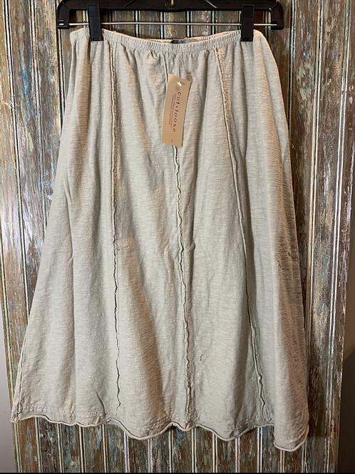 Seamed Skirt