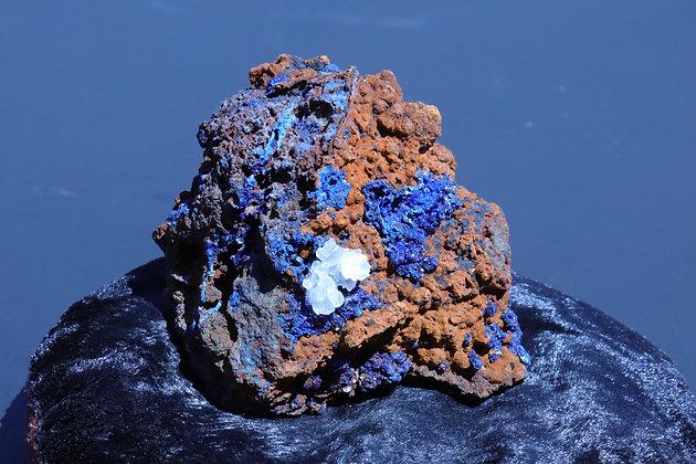 Azurite & Malachite Crystallization
