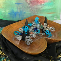 Wired Wrap Rings 3