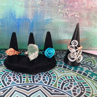 Wired Wrap Rings