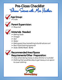 Pre-Class Checklist Heather Volcano-page