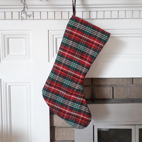 New Brunswick Tartan Christmas Stocking