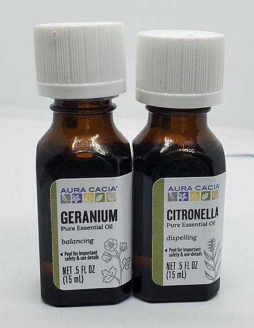 Citronella & Geranium