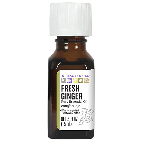 Aura Cacia Ginger Fresh