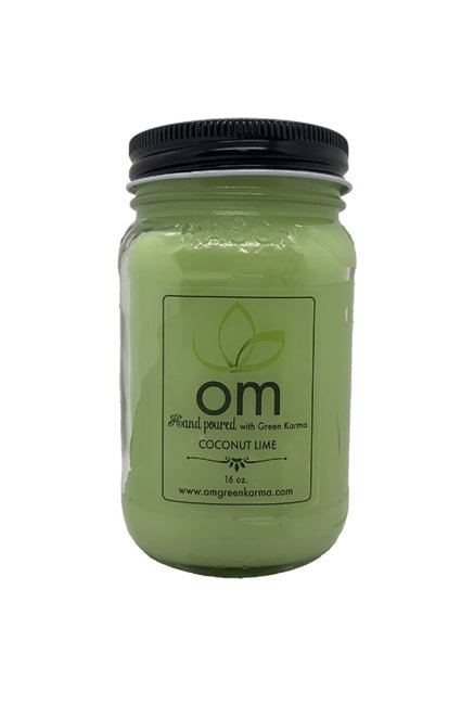 Candle Coconut Lime Omgreenkarma