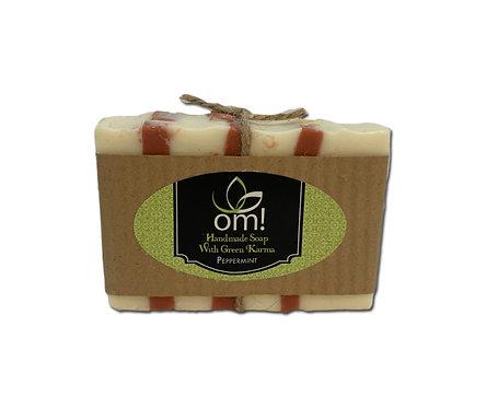 Omgreenkarma Peppermint Bar Soap