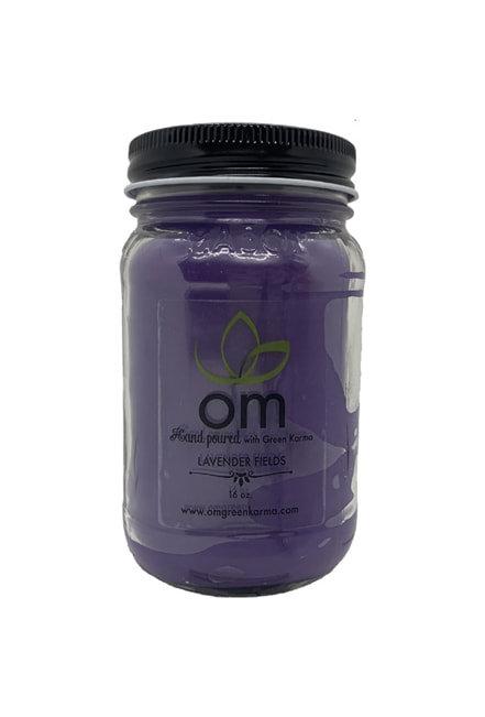 Candle Lavender Omgreenkarma
