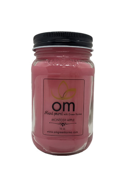 Candle Mc Intoch Apple Omgreenkarma