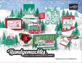 Stampin Up Herbst- Winterkatalog 2020