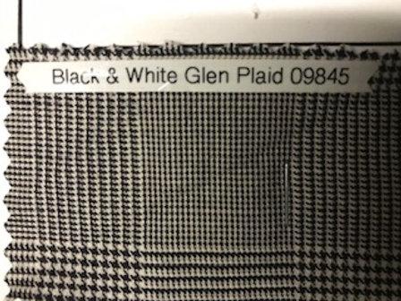 Black & White Glen Plaid 09845