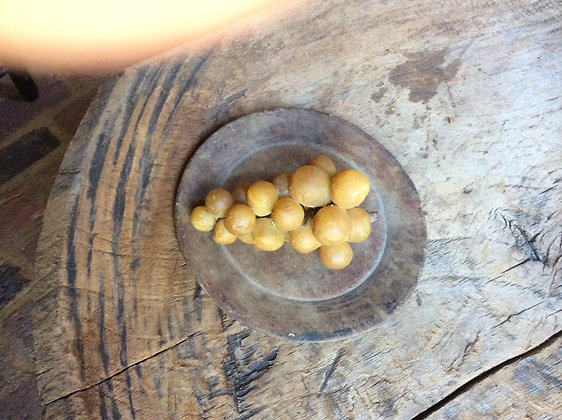 #386 Early gold grapes