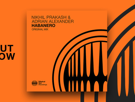 Habanero with Adrian Alexander. Out Now!