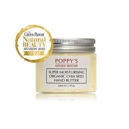 Super Moisturising Organic Chia Seed Hand Butter 50ml