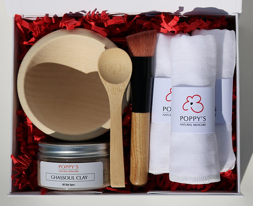Ghassoul Clay Face Mask Gift Set