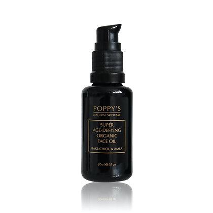 Super Age-Defying Organic Face Oil | Bakuchiol & Amla