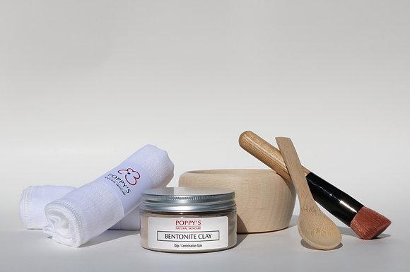 Bentonite Clay Face Mask Gift Set