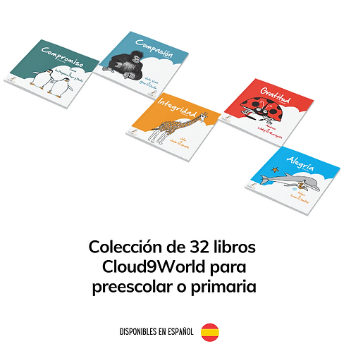 Colección de 32 libros Cloud9World (preescolar / primaria)
