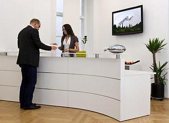 MemoryViews being used in office lobby