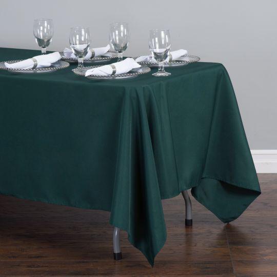 Rectangular Tablecloth Dark Green