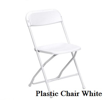 Samsonite White Plastic Chairs