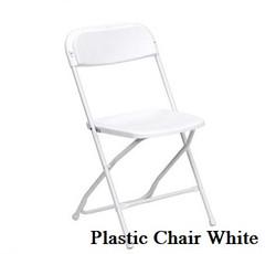 Samsonite White Plastic Chairs