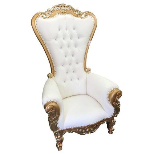 Victorian High Back Chair
