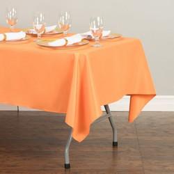 Rectangular Tablecloth Orange
