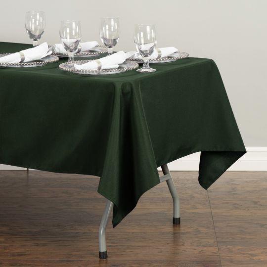 Rectangular Tablecloth Hunter Green