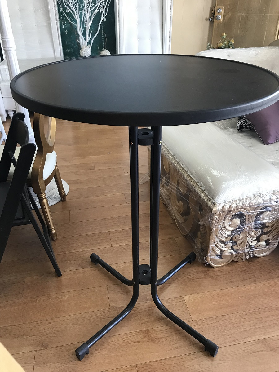 Black Cocktail Table 30""