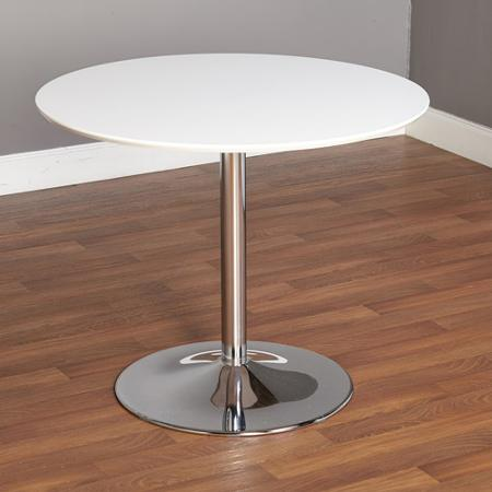 White Cocktail Table 30""