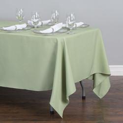 Rectangular Tablecloth Light Green