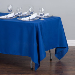 Rectangular Tablecloth Royal Blue