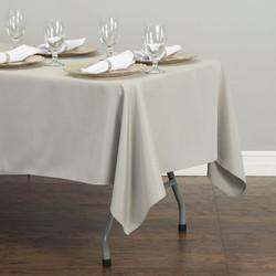 Rectangular Tablecloth Silver