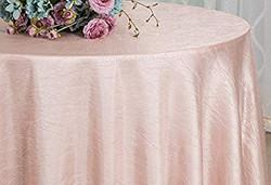 Crinkle Taffeta Blush Pink