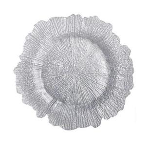 Sunburst Charger Silver