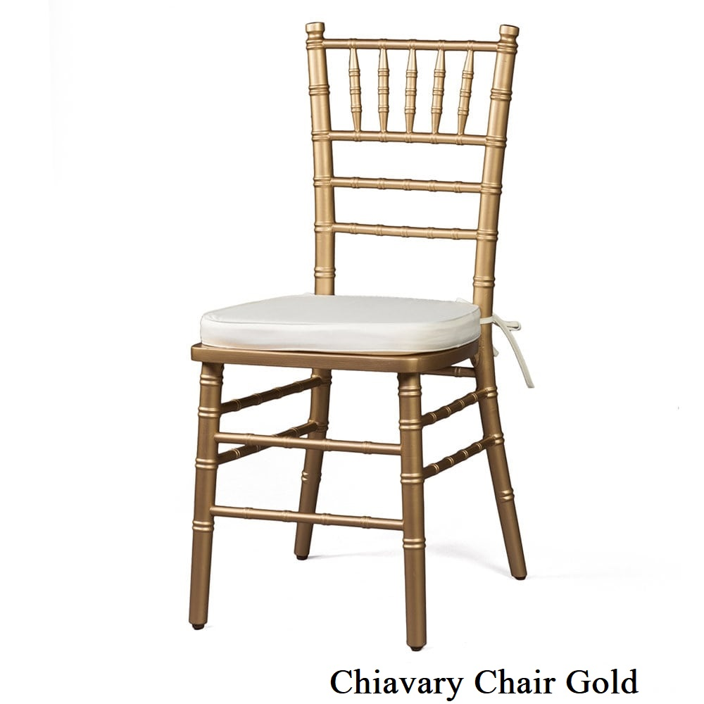 Chiavary Chair Gold