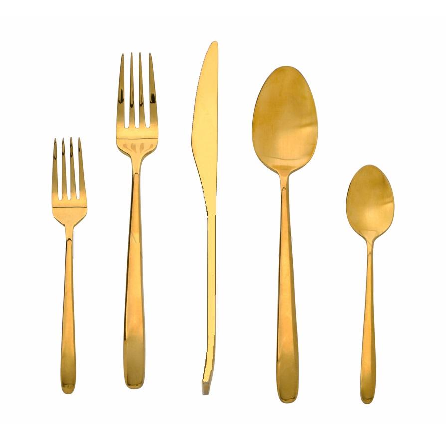 Flatware Gold
