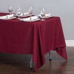 Rectangular Tablecloth Burgundy