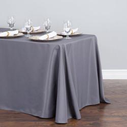 Rectangular Tablecloth Grey