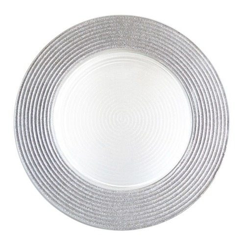 Striped Trim Glass Charger Silver.jpg
