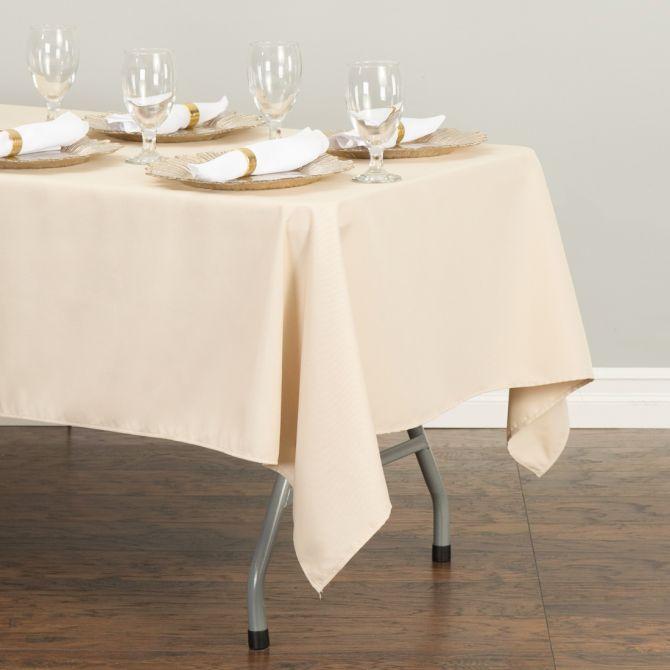 Rectangular Tablecloth Beige