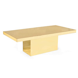 Mirror Table Gold