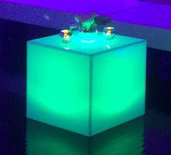 Lighted Side Table