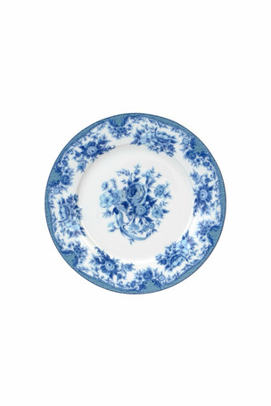 Blue Design Salad Plate