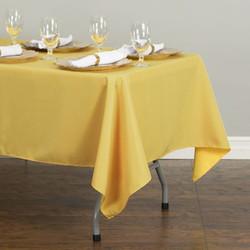 Rectangular Tablecloth Yellow