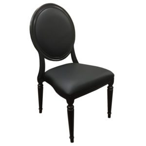 Black Pop Louis Chair
